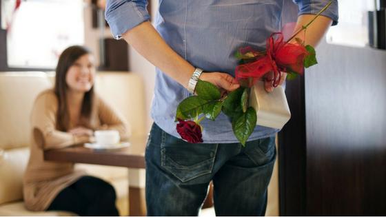 Flores para a amada