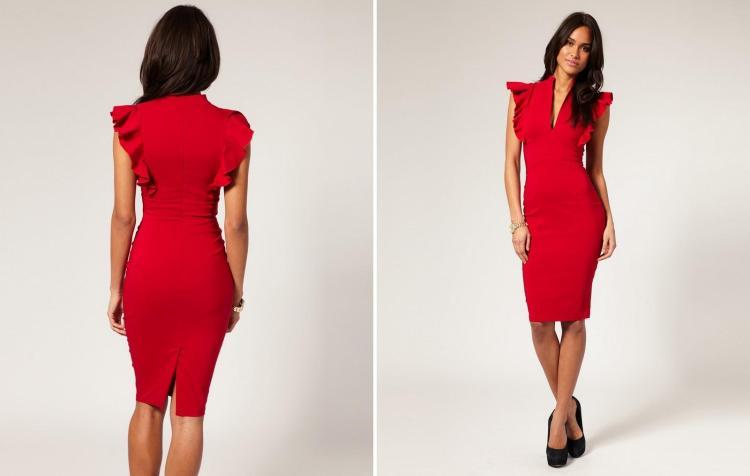vestido-tubinho-vermelho-colado